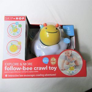 NEW - Follow Bee Crawl Toy - Ages 5 m and Up